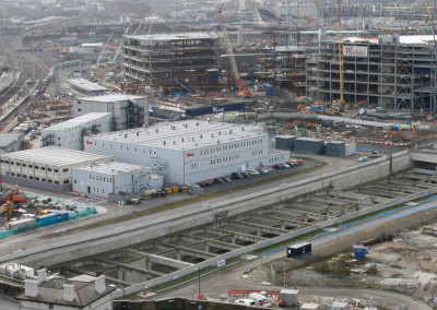 DLR Stratford International Extension Project