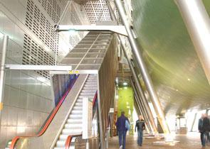 DLR Heron Quays Station
