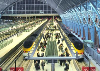 King's Cross St Pancras Station Redevelopment